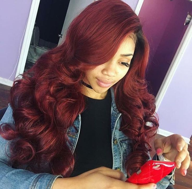 i really like this shade of red . i wanna dye my hair this color . 😍🤔 💍pinterest// kjvouge✨