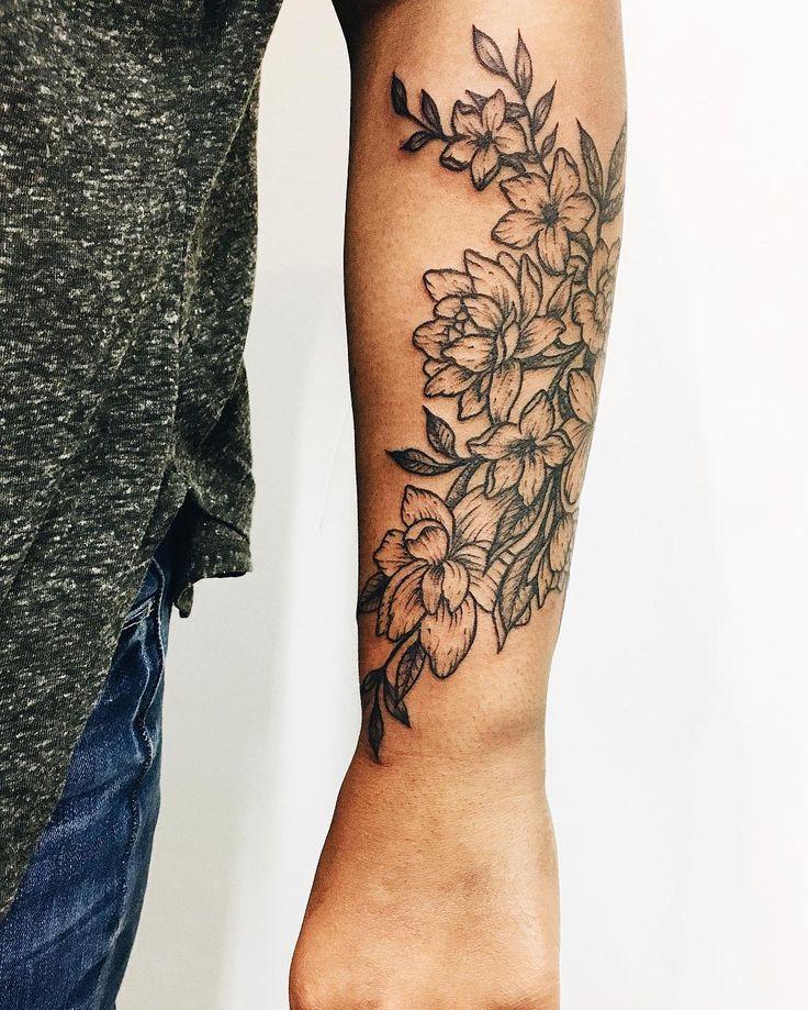 Best 25+ Jasmine flower tattoos ideas on Pinterest ...