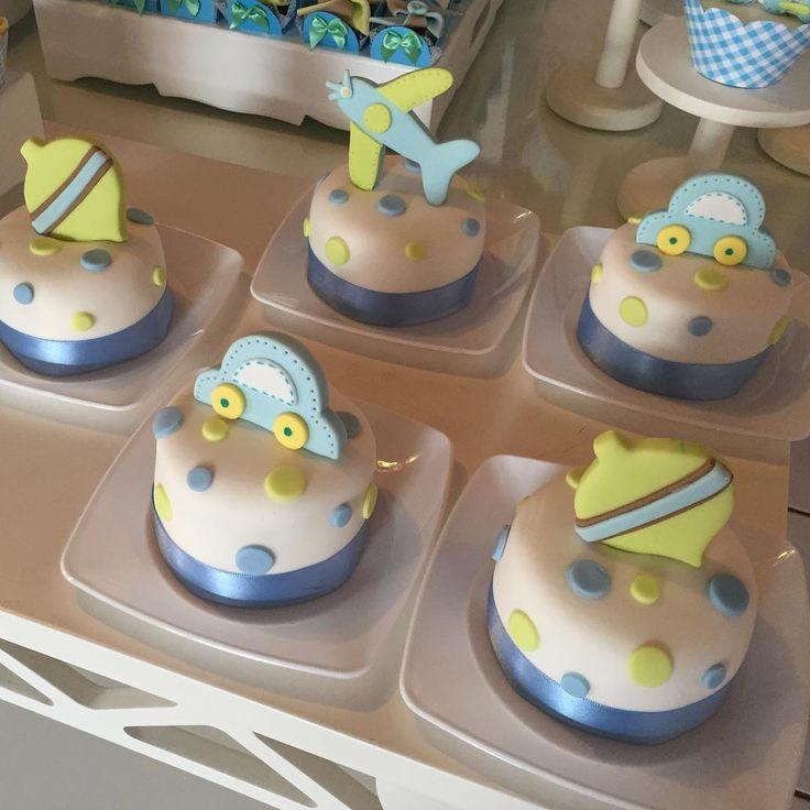 Baby Shower Mini Cakes