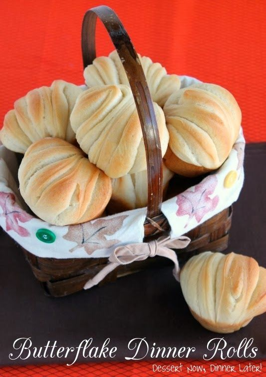 PERFECT Butterflake Dinner Rolls on MyRecipeMagic.com are perfect for your holiday dinner. #rolls #butterflake