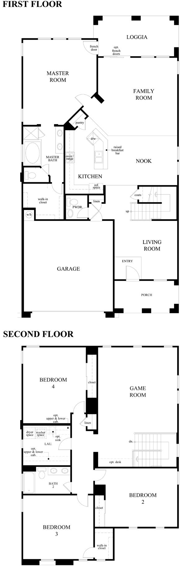 Kb Homes Floor Plans 2006