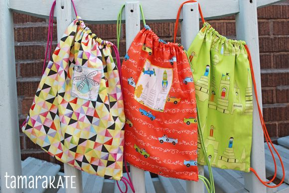 { Happy Sewing } ... Little Backpacks Tutorial