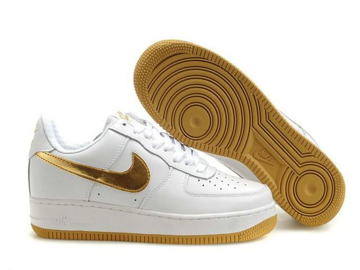 69dc0e2e4aa8 ... Zapatos - 5132A Buy Nike Air Force 1 Low Hombre Blanco Oro (Nike Force  One Low) Cheap . ...