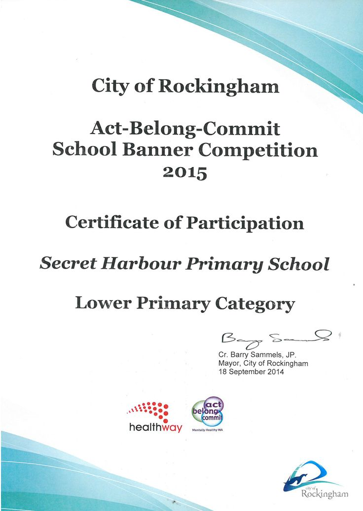 School Banner Competition 2015