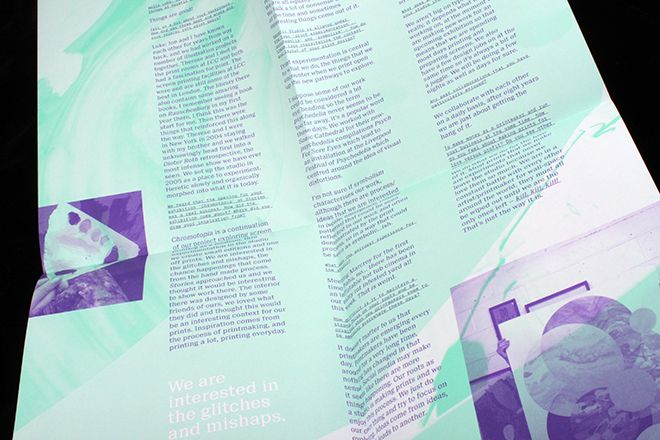 New Posterzine Proves That a Big Fold-out Poster Can Be a Magazine, Too