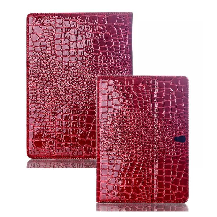 For Samsung Galaxy Tab S 10.5 Case Leather Crocodile Pattern Protective Kickstand Cover Cases for Samsung Tab S 10.5 T800 Coque