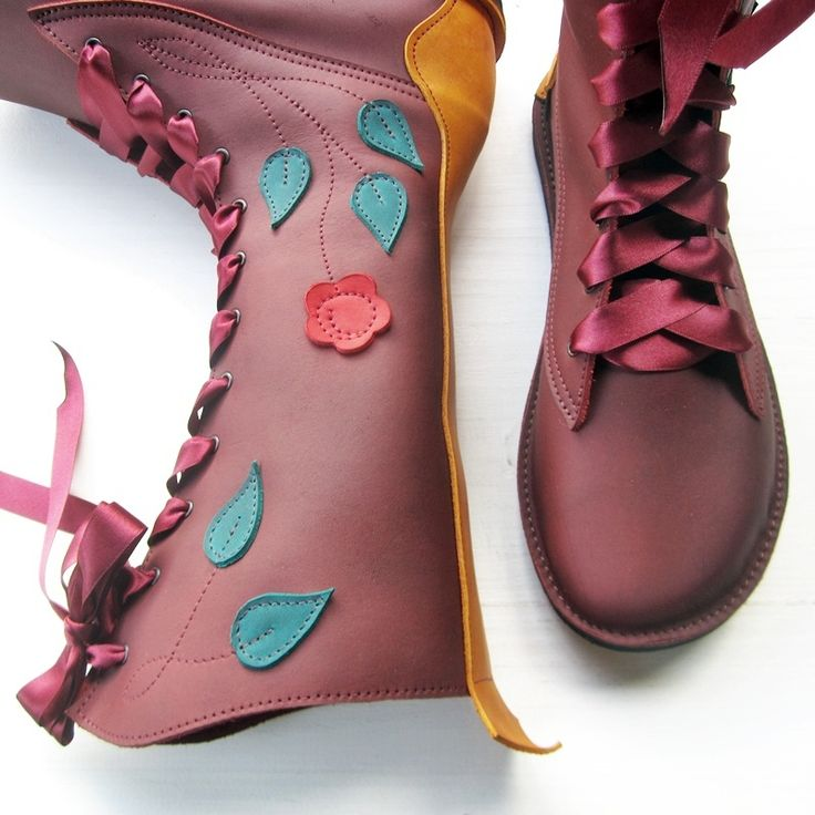 MOONSHINE Gypsy Rose Fairytale Boots - www.fairysteps.co.uk