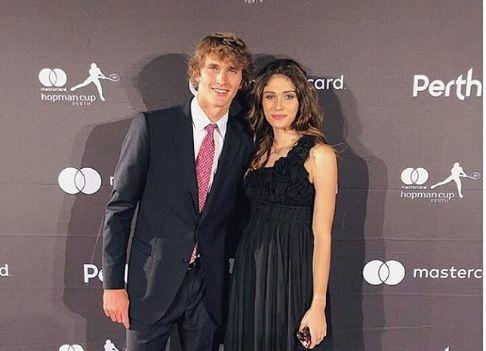 Olga Sharypova Alexander Zverev S Ex Girlfriend Bio Wiki Alexander Zverev Ex Girlfriends Alexander