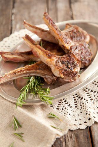 Paula Deen Rosemary Lamb Chops Easter dinner!