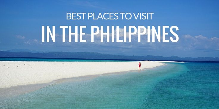 The best places to visit in the Philippines - from islands in Palawan to off-the-beaten provinces in Visayas and Mindanao.