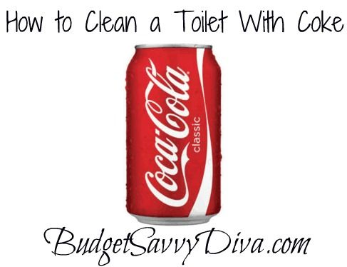 Clean the toilet with coke to remove stains. Pour a can of coke in the toilet and leave sit over night(or at least one hour). The acids from the coke dissolve the stains. You should not have to scrub before flushing the coke ;) but if you have a hard, deep stain a little scrubbing before flushing will never hurt noone~!