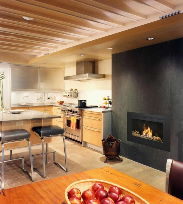 Luxury Home Kitchens: 25 Best Ethanol Fireplaces Images On Pinterest