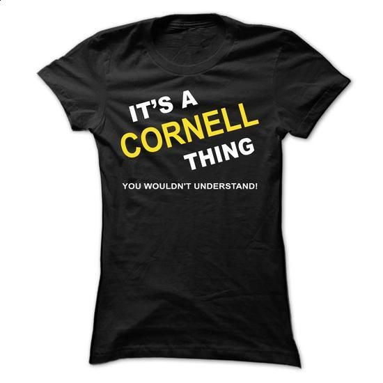 Its A Cornell Thing - #shirt prints #hoodie womens. MORE INFO => https://www.sunfrog.com/Names/Its-A-Cornell-Thing-iuwga-Ladies.html?68278