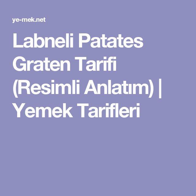 Labneli Patates Graten Tarifi (Resimli Anlatım)   Yemek Tarifleri