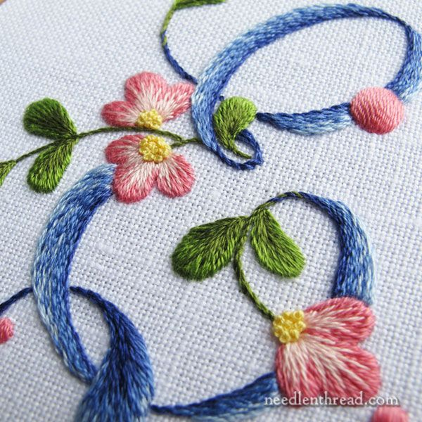 The Weird S & T: Monograms for Embroidery – NeedlenThread.com                                                                                                                                                                                 More