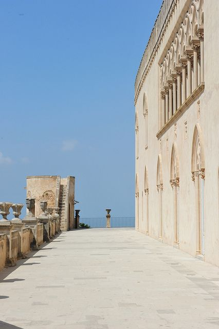 Castello di Donnafugata, Ragusa, Sicily -it's a beautiful old castle ...been there a few times! Always hot!