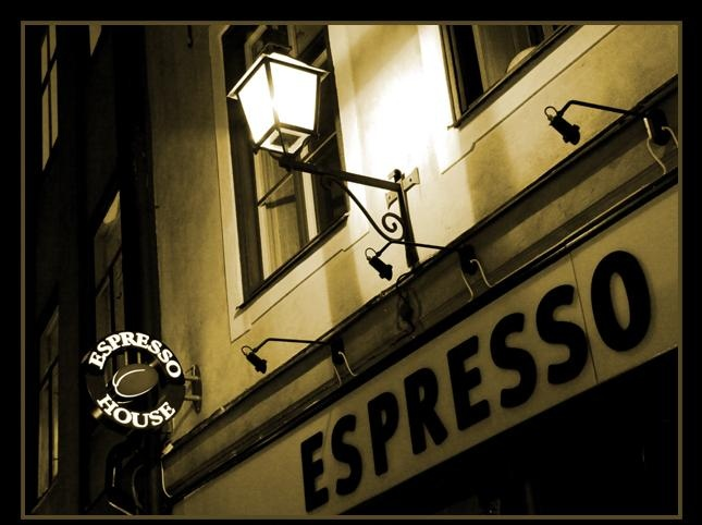 Italian Espresso bar sign