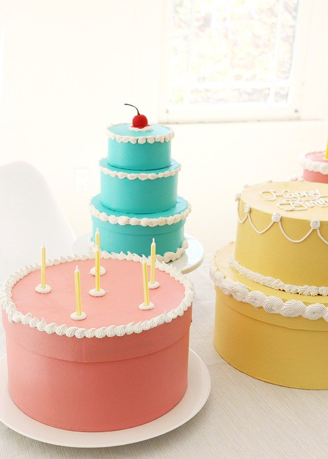 The 25 best gift box cakes ideas on pinterest beautiful diy cake gift boxes negle Images