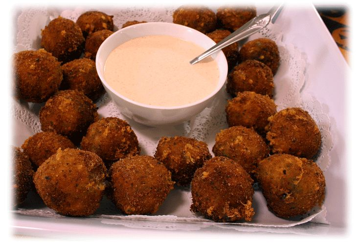 Copelands Bayou Broccoli Bites.  I will be testing this over the weekend! I've looked for this recipe for years!