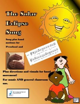 The solar eclipse of August, 2017 is a once-in-a-lifetime experience for many students. Combine science and music with this little ditty that is sure to have your little ones singing in the halls. Packet includes an MP3 accompaniment track, sheet music, and directions for