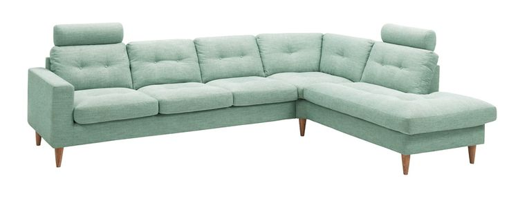 Ronja sofa3-seter-hjørne-puffavsl høyre DX3,Stoff Delight