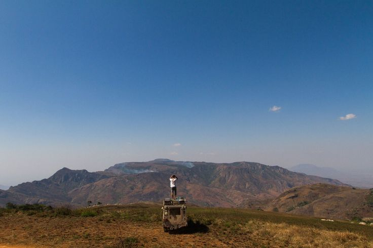 Blog | ROVING PLACES. View of Malosa Mountain from Zomba Plateau.