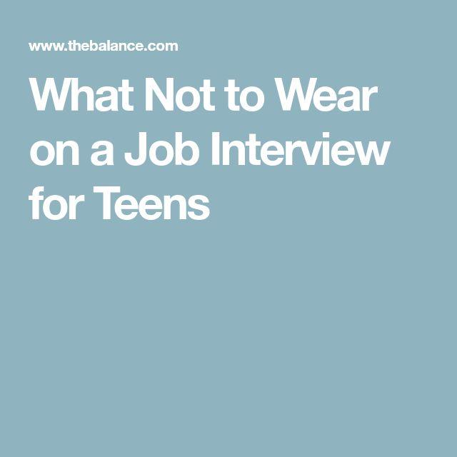 teenage job ideas