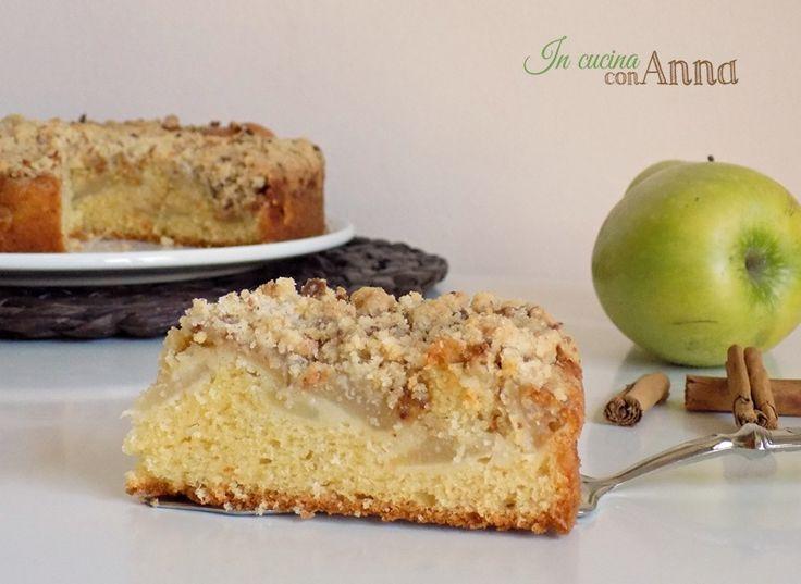 Eccovi la torta cuor di mela ad amaretti non la classica torta di mele ma un dolce buono buono che vi conquisterà dal primo assaggio..