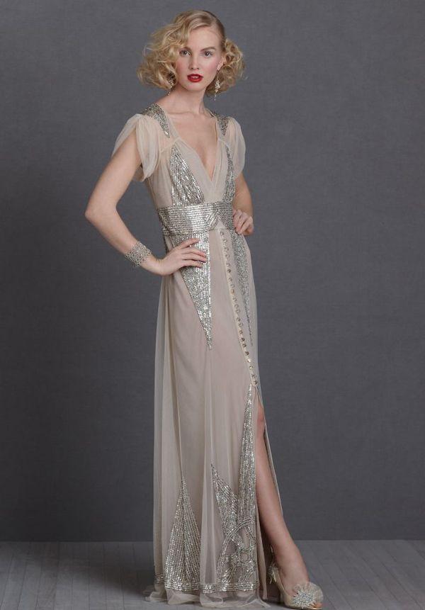 1920s Fashion Wedding Dresses