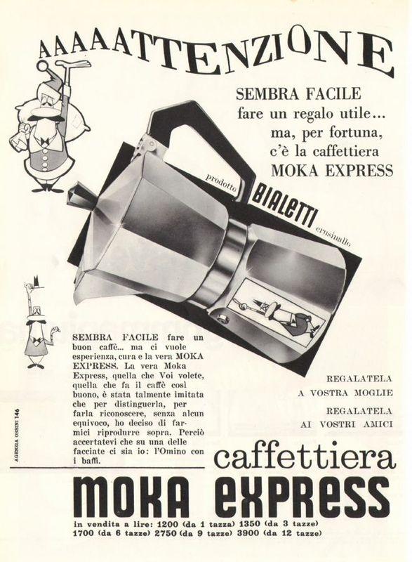 Renato Bialetti   Moka 1946