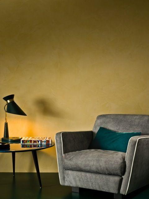 Pietre, marmi e acqua per i prodotti Giorgio Graesan. Qui nei nuovi Colori della Pietra che prendono ispirazione dalla natura. #ggf #pitturadecorativa #interiors #design #casa #paintwall #wallpaint
