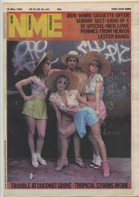 Kid Creole and The Coconuts - New Musical Express magazine