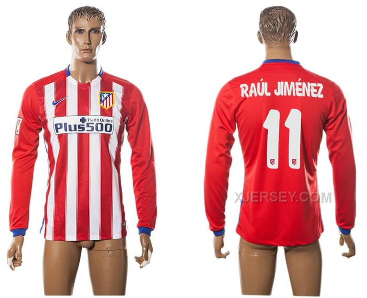 http://www.xjersey.com/201516-atletico-madrid-11-raul-jimenez-home-long-sleeve-thailand-jersey.html Only$35.00 2015-16 ATLETICO MADRID 11 RAUL JIMENEZ HOME LONG SLEEVE THAILAND JERSEY Free Shipping!