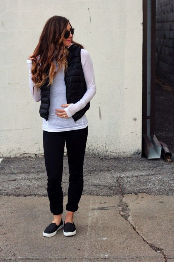 puffy vest outfits ideas0231