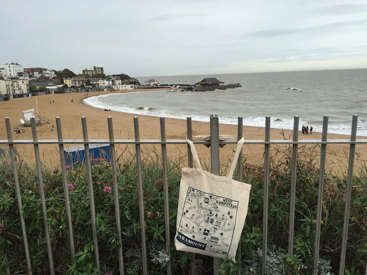 #WhampPlanet bag goes to Broadstairs, Kent