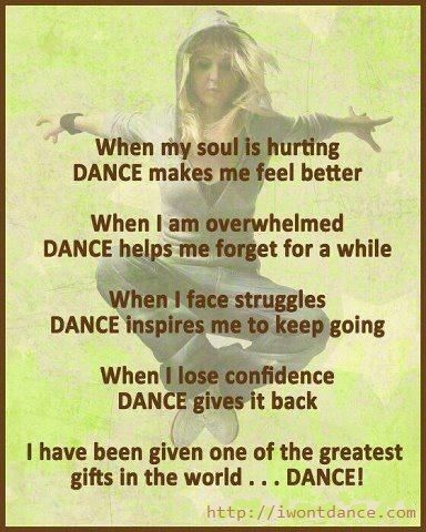 This quote really embodies what dance can b for one who dances w/ an open heart.