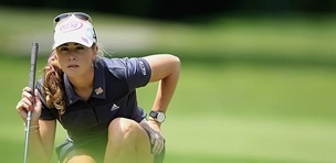 Paula Creamer's putting is holding her back at the Wegman's LPGA Championship.