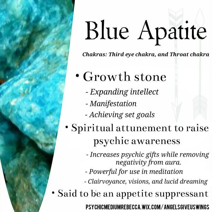 Placement Chakra Stone Chart