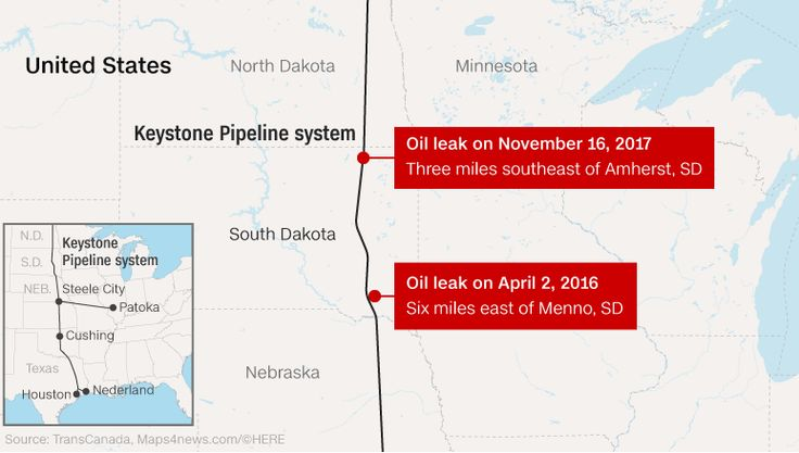 #KeystoneXL #Pipeline leaks 210,000 gallons of oil in South #Dakota http://edition.cnn.com/2017/11/16/us/keystone-pipeline-leak/index.html?utm_content=buffer88c3a&utm_medium=social&utm_source=pinterest.com&utm_campaign=buffer  #energy #USA #oil #gas #oilandgas #subsea #alxcltd #OilSpill