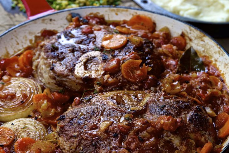 Osso Buco with Gremolata - Make delicious beef recipes easy, for any occasion