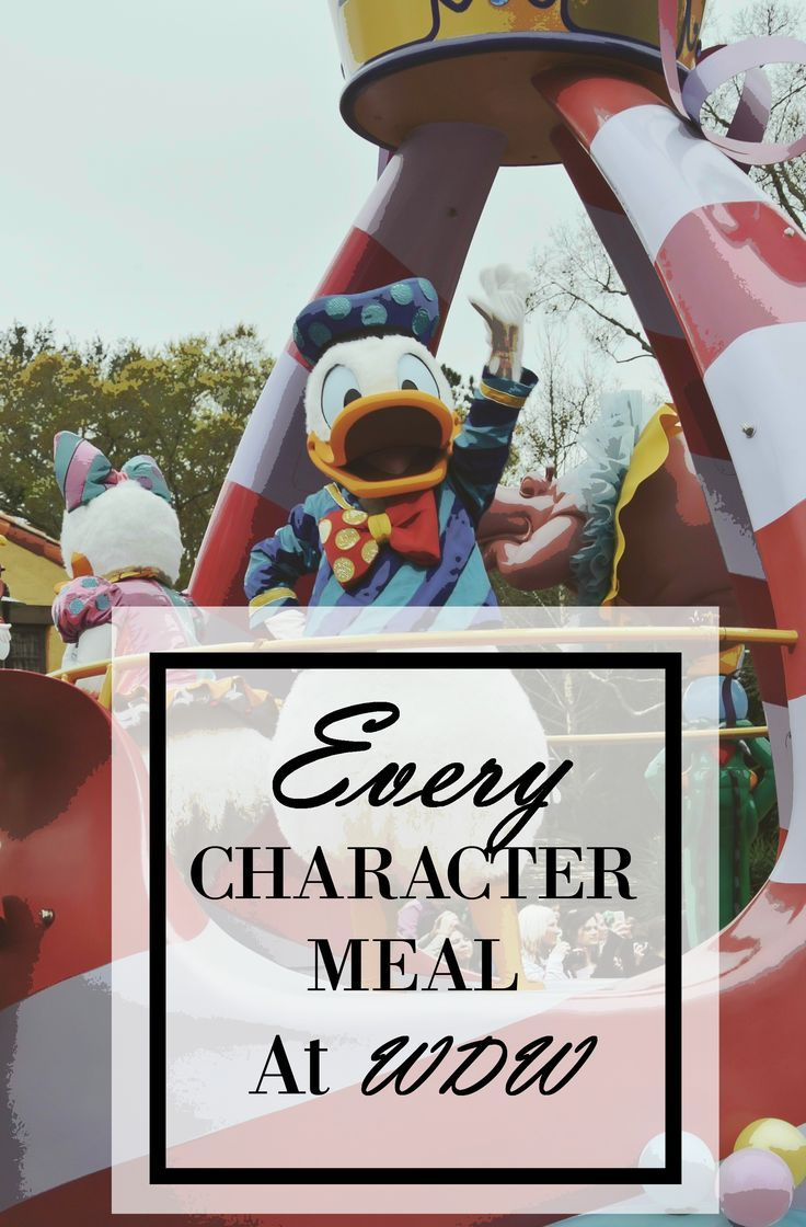 Information on every character meal available at Walt Disney World, including meal cost, dining plan credits, available characters, and recommendations.