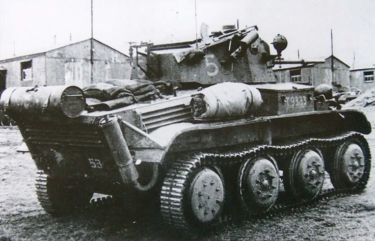 georgy-konstantinovich-zhukov:  A Mk VII Tetrarch tank. British, World War II