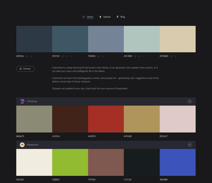 Choosing Wedding Colors Tool: 17 Best Ideas About Palette Generator On Pinterest