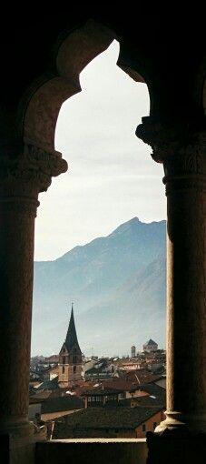 Trento, Castello del Buonconsiglio - Italia. 46°04′00″N 11°07′00″E