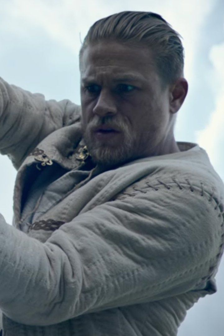 Pin for Later: Charlie Hunnam Couldn't Be Any Hotter in the King Arthur: Legend of the Sword Trailer