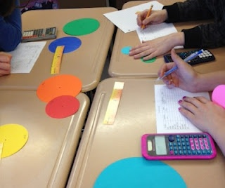 Great Middle School Math Blog. Love the use of exit slips for writing in math.