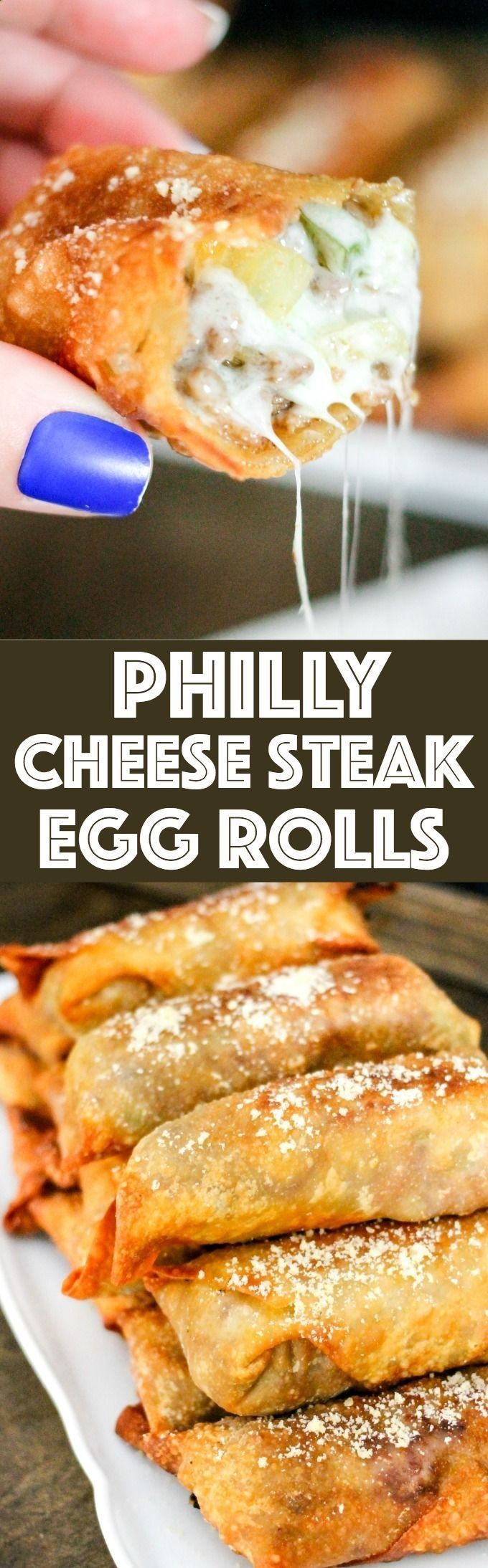 57 Best Recipes Images On Pinterest Cooking Rezepte And Fronte Smoked Beef 400 Gram Philly Cheese Steak Egg Rolls Are A Fun Spin Americas Favorite Sandwich