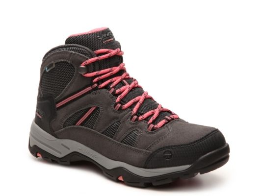 Women's Hi-Tec Bandera 2 Hiking Boot - Charcoal/Pink