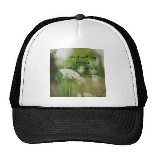 Life Laugh Anne Green Gables Trucker Hat