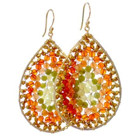 Teardrop Carnelian, Beads Earrings, Teardrop Earrings, Gemstones Earrings, Summer Fun, Summer Colors, Earrings Jewelry, Jade Earrings, Stained Glasses